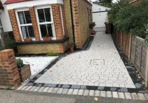 Blocked Paving Drive Repaired