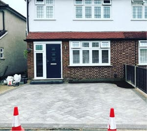 Brick Paving Job in Surrey